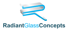 radiant glass concepts logo